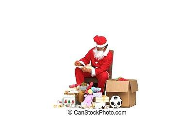 Prüfung,  Claus,  santa, Geschenk