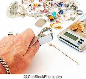 prüfung, diamant, pawn-broker