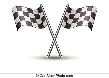 prąd bandera