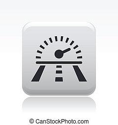 prąd, odizolowany, ilustracja, jednorazowy, wektor, szybkość, ikona