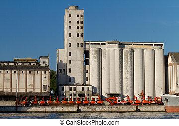 průmyslový building