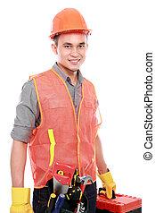 průmyslový dělník