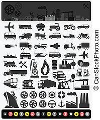 průmyslový, icons3