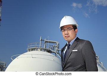průmyslový, inženýr