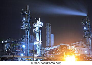 průmyslový, komplikovaný
