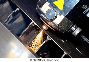 průmyslový laser