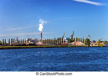 průmyslový, oblast