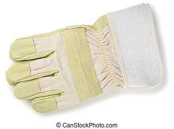 průmyslový, rukavice