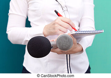 pr., -, 関係, journalist., ニュース, conference., 公衆