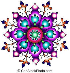 pr, paisley, ornament., inde, seamless