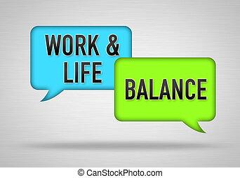 praca, życie, waga, -