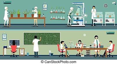 praca badawcza, naukowiec