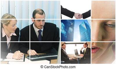 praca, handlowy zaludniają