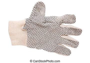 praca rękawiczka
