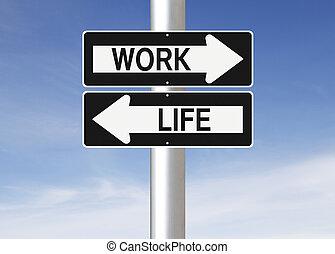 praca, waga, życie
