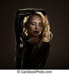 prachtig, blonde