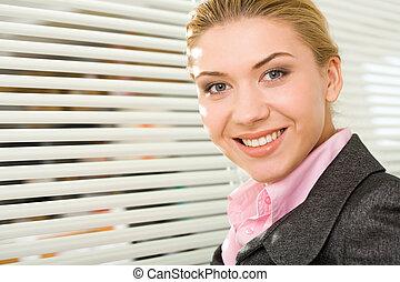 pracownik, szczęśliwy