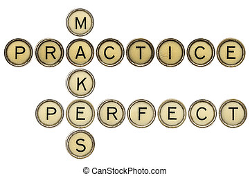 practice makes perfect croosword