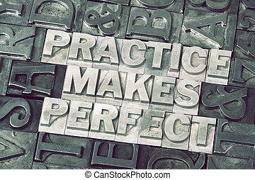 practice makes perfect met