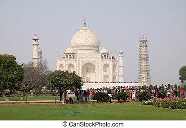 pradesh, agra, mahal, palaces), (crown, uttar, インド, taj