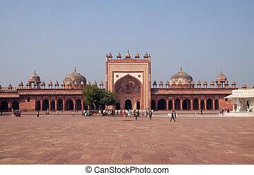 pradesh, constructed, ciudad, emperador, mughal, india, ...