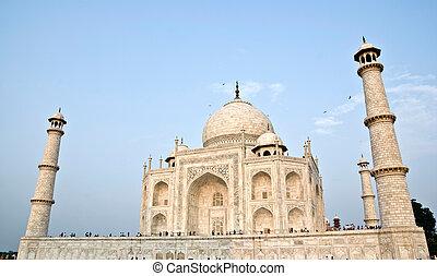pradesh, uttar, taj, インド, パノラマ, agra, mahal
