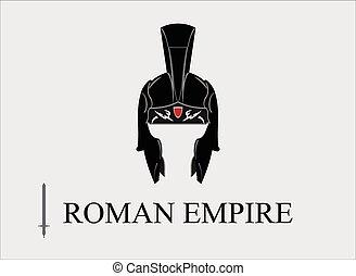 Praetorian Icon. Elegant Centurion helmet, combine with...