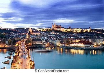 prag castle, cityscape