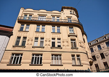 Prag historic architecture