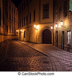 Praga, notte