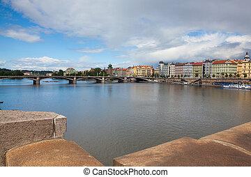 Praga, parte, histórico, vista