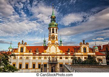 Praga, posto, pellegrino,  loreta