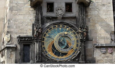 Prague Astronomical Clock at 3 PM - Prague Astronomical...