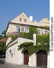 Prague - Baroque building the Lesser Town (Mala Strana)