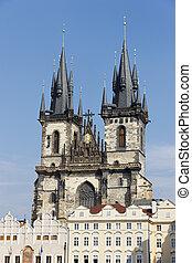 Prague bohemian church