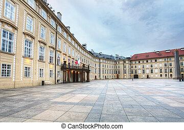 Prague castle indoor