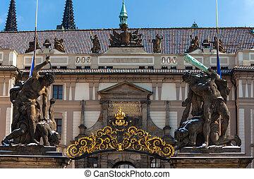 Prague Castle, Matthias Gate