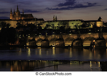 Prague Castle Sunset2