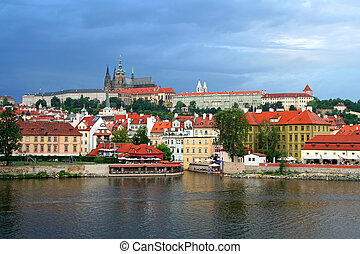 Prague city of Czech Republic