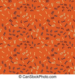 Prague creative pattern - Prague creative pattern. Digital...