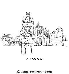 Prague Czech Republic famous architecture