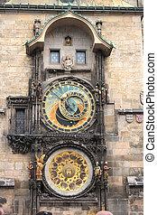 prague, horloge