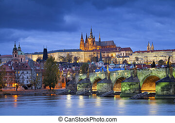 Prague. - Image of Prague, capital city of Czech Republic,...