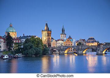 Prague. - Image of Prague, capital city of Czech Republic, ...