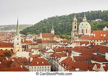 Prague landscape.