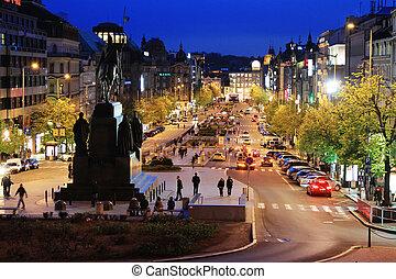 prague, les, capital, de, république tchèque