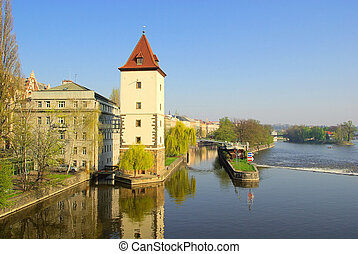 Prague Moldau 01
