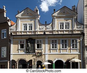 Prague - Neruda Street in Lesser Town - Prague - Neruda's ...
