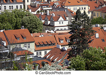 Prague - Nerudova Street and Lesser Town