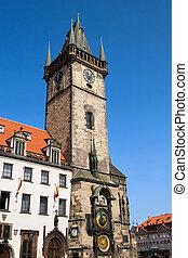 Prague Old City Hall Clock Tower
